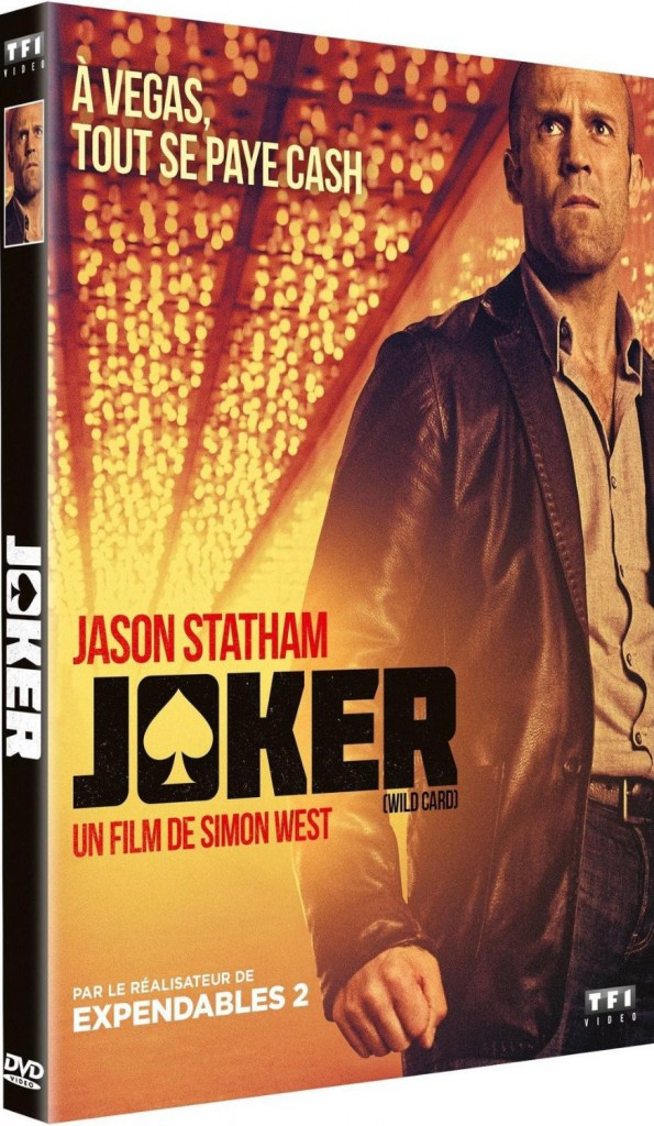 Joker, de Simon West, TF1 Vidéo. 19,99 €.