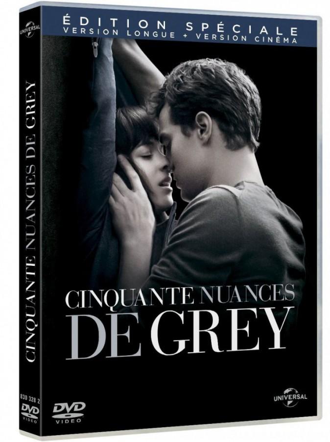 DVD : Cinquante Nuances de Grey, Universal, Blu-ray. 19,99 € : 08/06/15