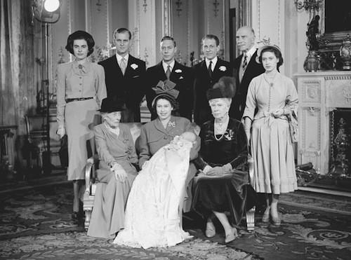 Baptême du prince Charles