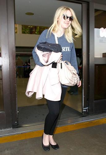 Dakota Fanning à Los Angeles le 28 janvier 2014