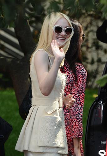 Dakota Fanning à Venise le 31 août 2013