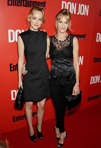 Dakota Johnson et Mélanie Griffith à New-York le 12 septembre 2013