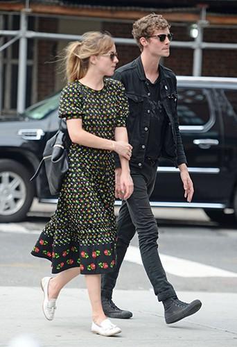 Dakota Jonhson et Matthew Hitt à New York le 23 juillet 2014
