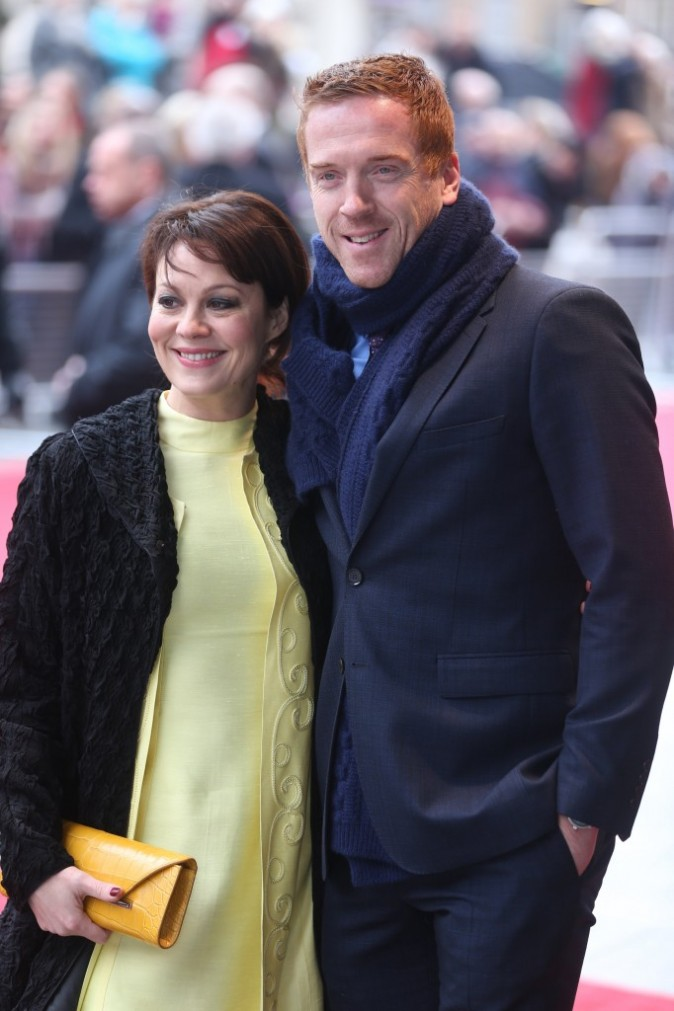 Damian Lewis et Helen McCrory, Londres, 26 mars 2013.