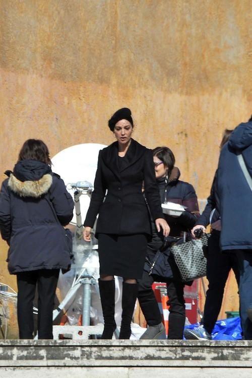 Photos : Daniel Craig et Monica Bellucci : duo mortel sur le tournage de James Bond !