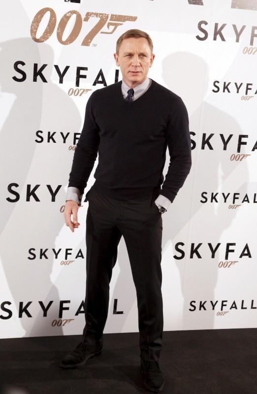 Daniel Craig le 29 octobre 2012 à Madrid