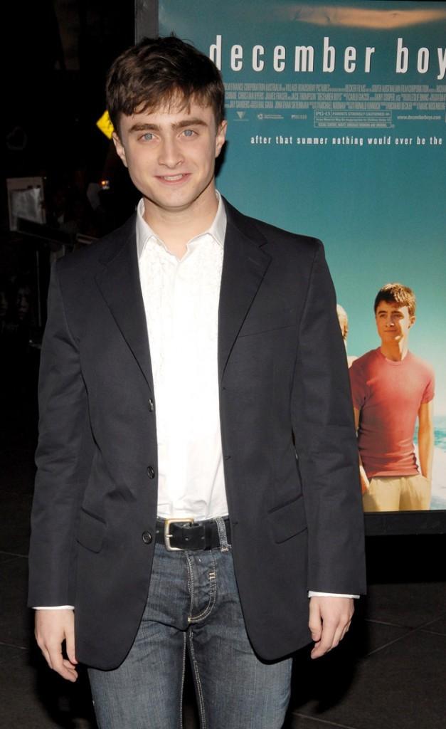 Photos : Daniel Radcliffe à la Première à Los Angeles de December Boys, en 2007