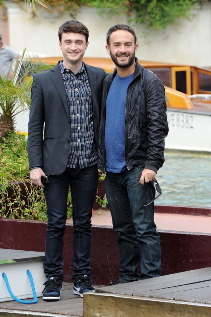 Photos : Daniel Radcliffe : fraîchement débarqué à Venise, il exhibe un sourire XXL et montre toutes ses dents !