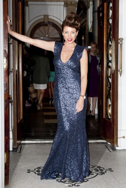 Dannii Minogue, Londres, 12 septembre 2012.