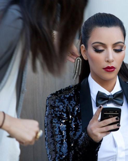 ...façon Kim Kardashian!