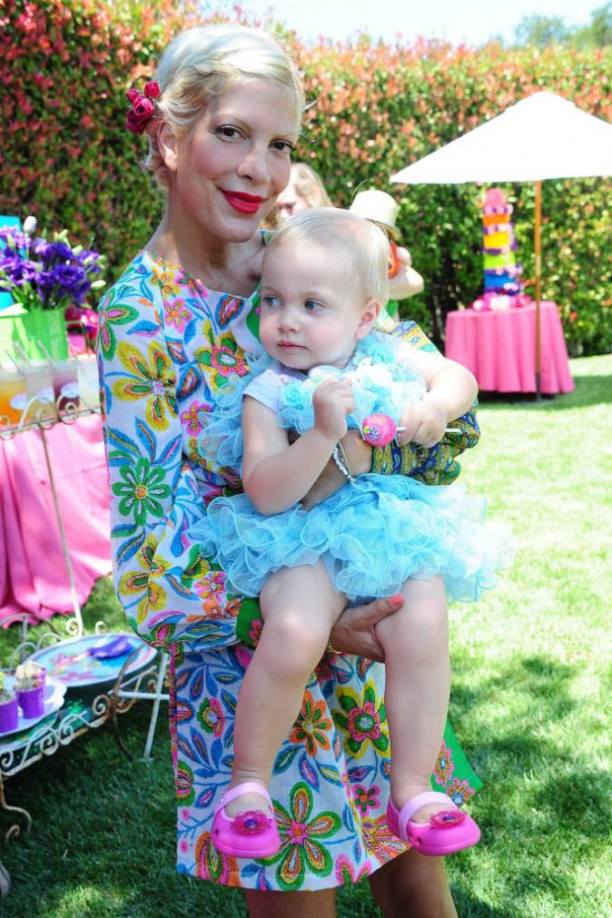 Tori Spelling et sa fille Hattie