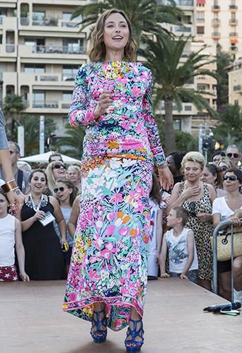 Sandrine Quétier à Monte-Carlo le 8 juin 2014