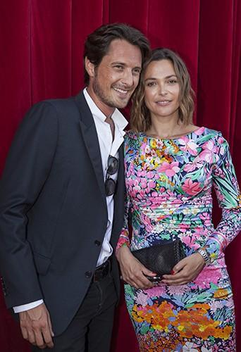Vincent Cerutti et Sandrine Quétier à Monte-Carlo le 8 juin 2014