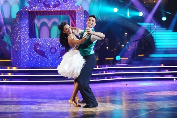 Shy'm et son danseur Maxime Demeyrez !