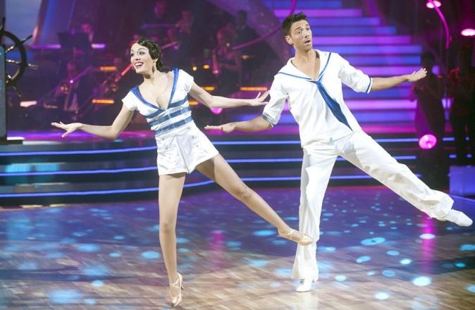 Sofia Essaïdi a encore hérité d'une des danses les plus difficiles : mais elle a tout fait sans broncher !