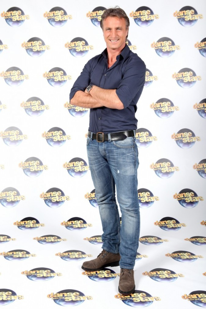 David Ginola, mis en difficulté, a dû passer l'épreuve de la Dernière Danse.