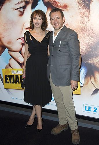 Valérie Bonneton et Dany Boon à Paris le 30 septembre 2013