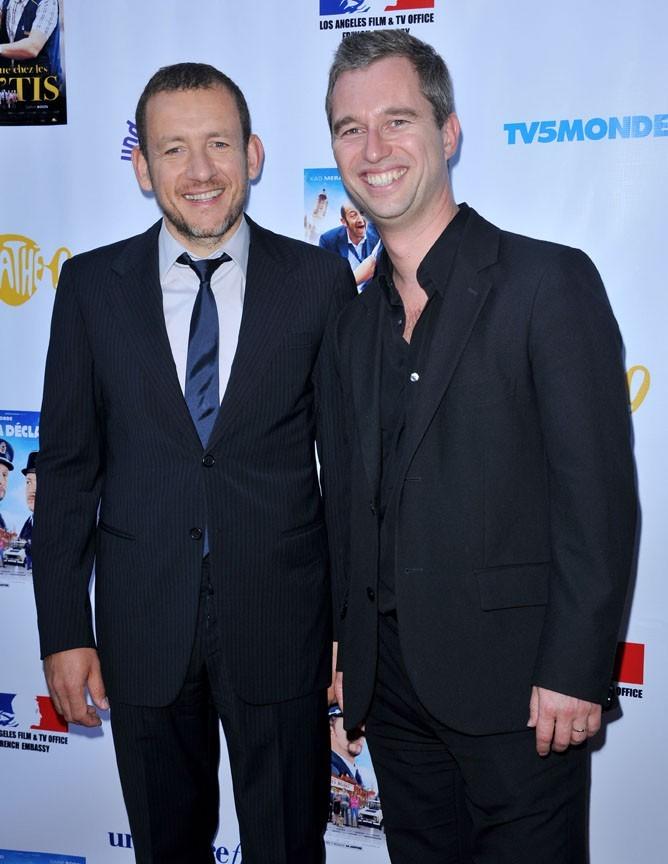 """Dany Boon et David Martinon lors de la soirée """"An Evening With Dany Boon"""" à Beverly Hills, le 14 septembre 2011."""