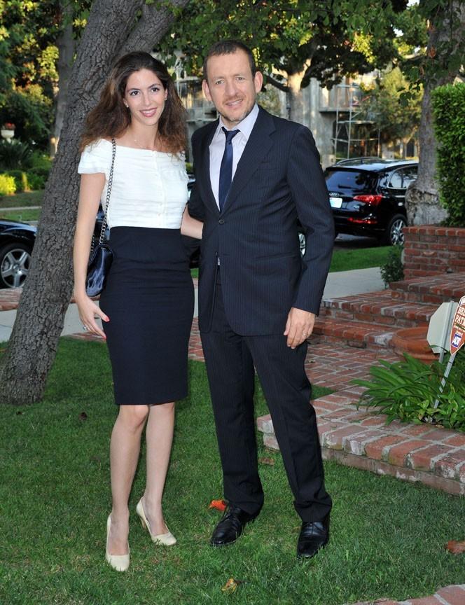 """Dany Boon et sa femme Yael lors de la soirée """"An Evening With Dany Boon"""" à Beverly Hills, le 14 septembre 2011."""