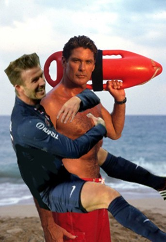 Photos : David Beckham : célébrité la plus câline du net !