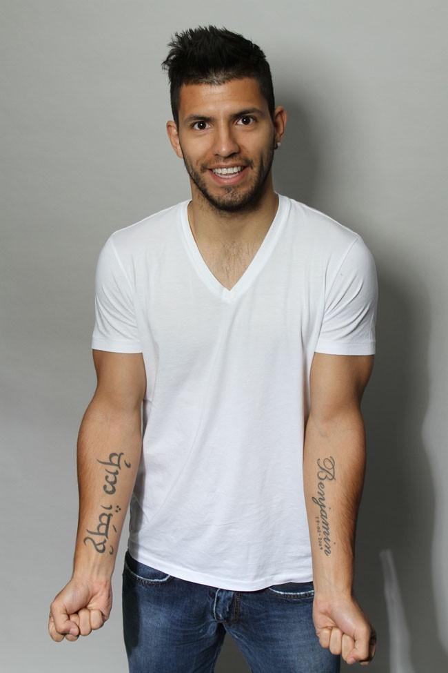 Sergio Agüero, l'attaquant de Manchester City gagnera 18,8 millions d'euros en 2012