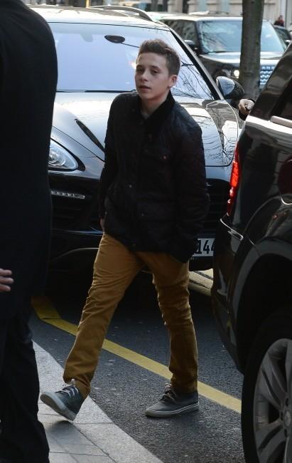 Brooklyn Beckham Paris, 20 février 2013.
