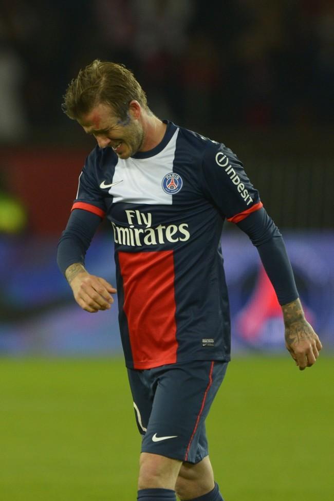 David Beckham, Paris - Parc des Princes, 18 mai 2013