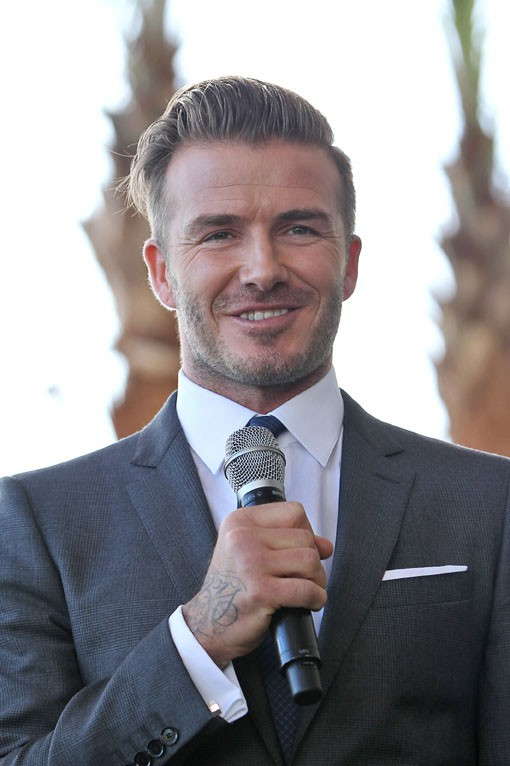 David Beckham à Miami le 5 février 2014