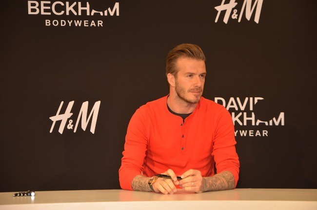 David Beckham le 24 mai 2013 à Paris