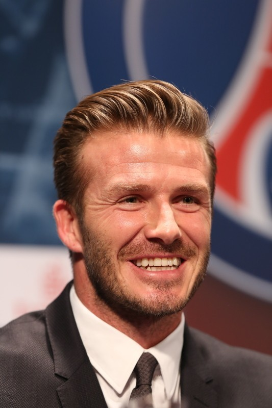 David Beckham, Parc des Princes, 31 janvier 2013.
