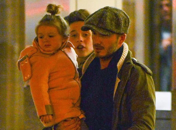 David Beckham : il s'offre un dîner en famille pendant que Victoria peaufine les derniers détails de son défilé !