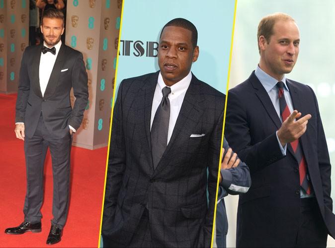 David Beckham, Jay-Z, Prince William... Tous taill�s comme des monuments britanniques !