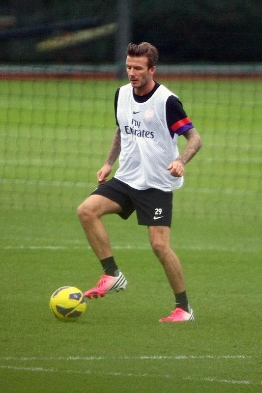David Beckham, Londres, 29 janvier 2013.