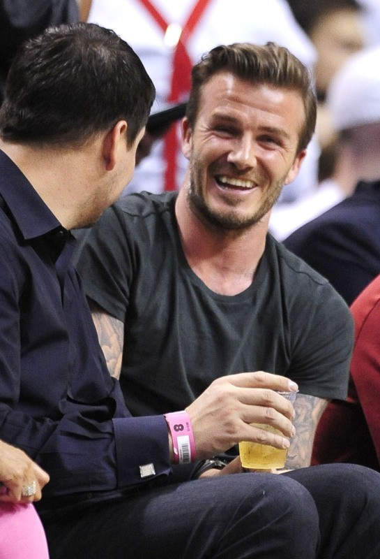 David Beckham le 30 mai 2013 à Miami