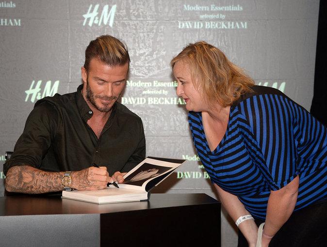 David Beckham adore ses fans