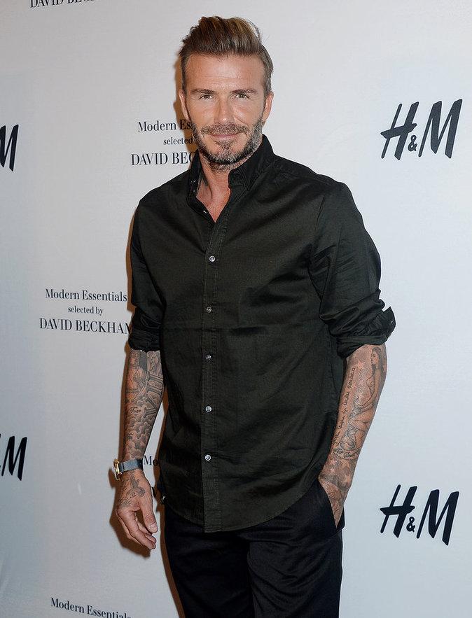 David Beckham est très sexy