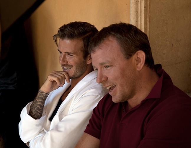David Beckham et Guy Ritchie