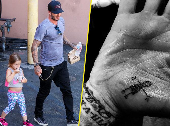 David Beckham : un nouveau tatouage signé Harper !