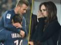 Photos : David Beckham : une victoire pour son premier match avec le PSG sous les yeux de sa femme Victoria et de sa mère !