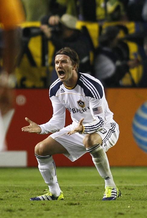 david Beckham a tout donné pour son public !