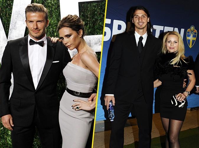 Apparition glamour pour le couple Beckham, tenue soignée mais trop sobre pour les Ibrahimovic : les Beckham l'emportent !