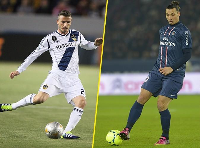 En 5 ans chez les Galaxy, David aura marqué 19 buts. Zlatan, au PSG depuis 2012 en aura cumulé 21. Le point est pour Zlatan !