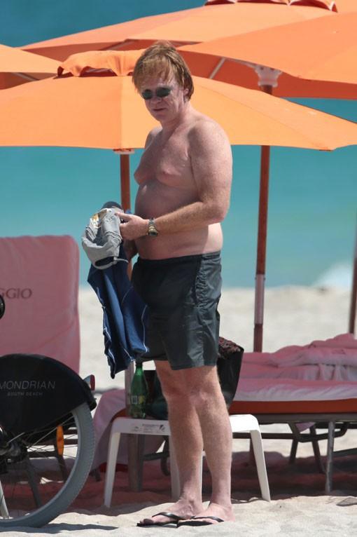 David Caruso à Miami le 17 mars 2015