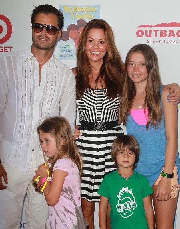 David Charvet et sa magnifique famille !