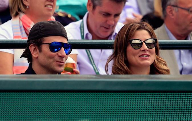 Bradley Cooper et Mirka Federer