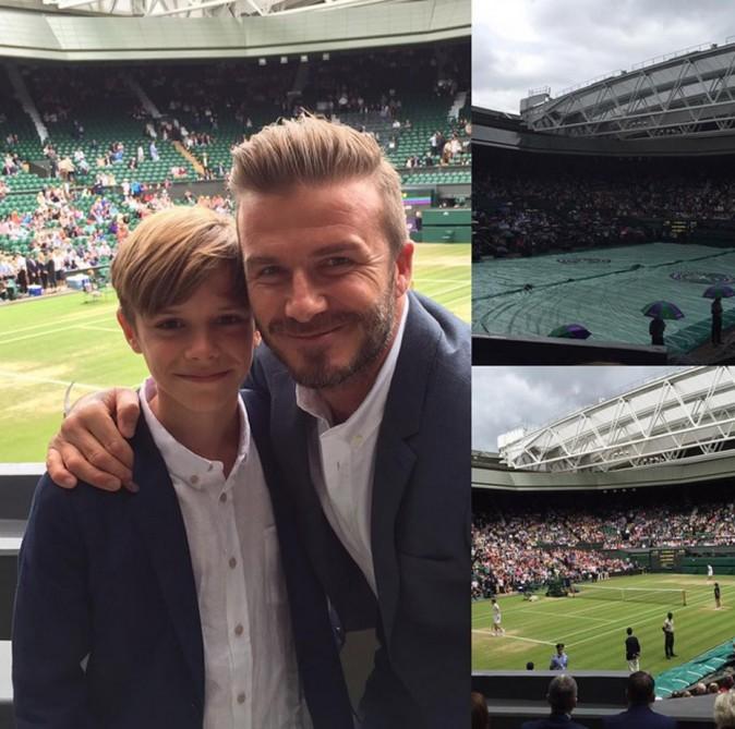 Le cliché posté par David Beckham sur Instagram