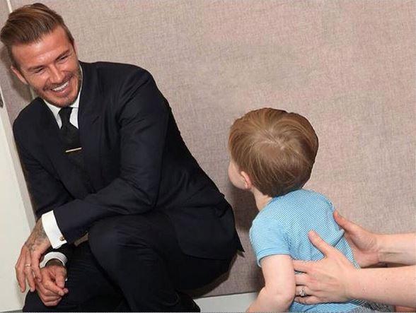 Anniversaire de Romeo Beckham
