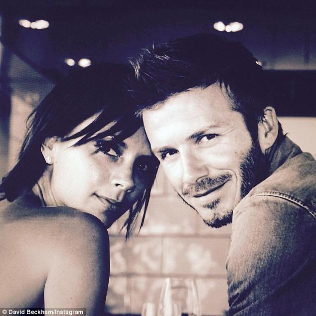 David et Victoria Beckam