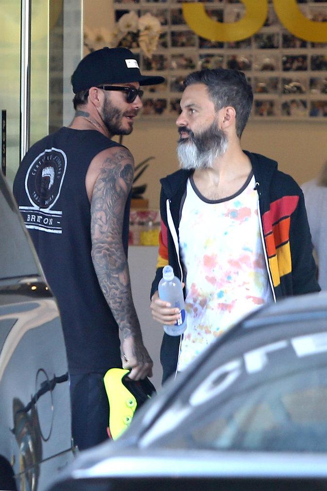 David et Victoria Beckham à Los Angeles le 19 octobre 2015