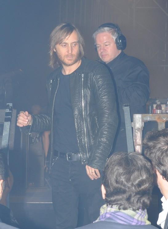 David Guetta était là avec Cathy !